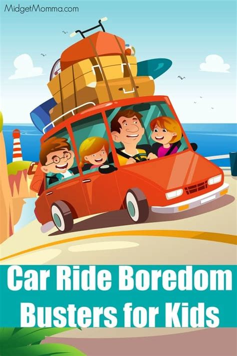 Car Ride Boredom Busters for kids • MidgetMomma