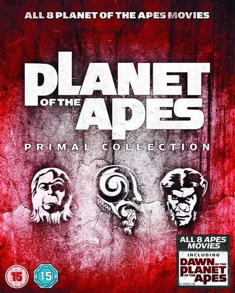 Planet Of The Apes: Primal Collection 1-8 Box Set Blu-ray