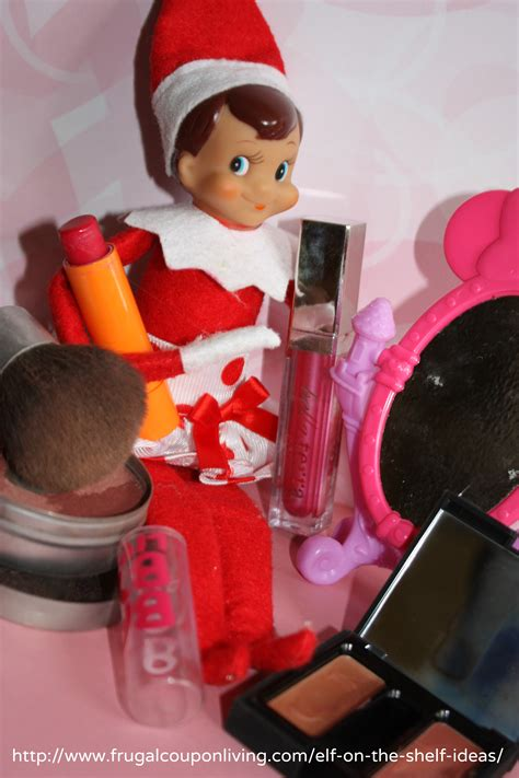 Easy The Elf on The Shelf Ideas - Elf Gets Dolled Up