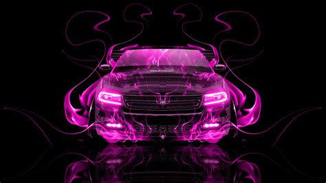 Dodge Charger RT Muscle Front Fire Abstract Car 2014   el Tony
