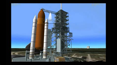 Space Shuttle Launch Sequence (Part 1) - YouTube
