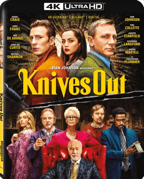 Knives Out 4K 2019 Ultra HD 2160p » 4K Movies, Download