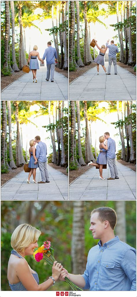 Key Biscayne Engagement   Casey + Tate   Miami Engagement