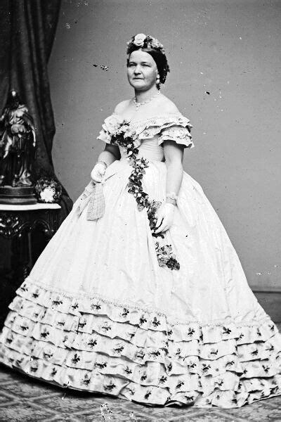 New 5x7 Photo: First Lady Mary Todd Lincoln, wife of
