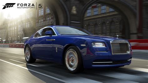 Rolls Royce makes its racing game debut in free Forza 5