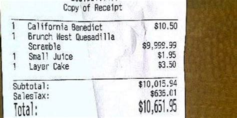 The Only Receipts Worth Keeping Are Funny Receipts Like These